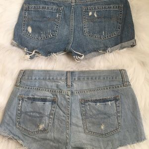 Abercrombie & Fitch Shorts - ☀️BOGO☀️ BUNDLE Abercrombie and Fitch Jean shorts